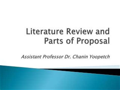 Format of research proposal ppt